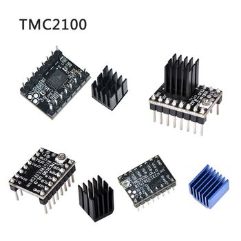 rumba plus 3d printer motherboard upgrade rumba control board mpu rumba optimized version with 6pcs tmc2208 stepper driver TMC2130 TMC2208 Stepper Motor StepStick Mute Driver Silent Excellent Stability Protection For 3d Printer Parts