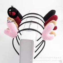 цена на Antler  Antler Headband Rabbit Headband Hair Clip Cat Ears Headband Hair Clip Headwear Christmas Hair Accessories Mouse Ears