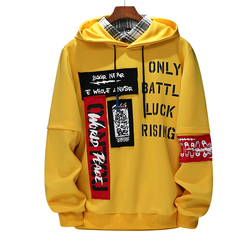 Mens Hooded Sweatshirt Big Size Autumn Hoodie Long Sleeve Male Hoodie Casual Hip Hop title=