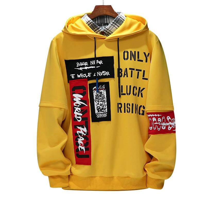 Mens Hooded Sweatshirt Big Size Autumn Hoodie Long Sleeve Male Hoodie Casual Hip Hop Sportswear Casual Sweatshirts For Men,ZA272