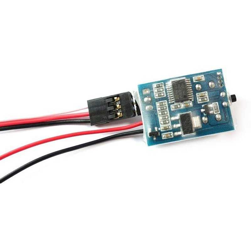 3In1 แบตเตอรี่แรงดันไฟฟ้าต่ำ Buzzer ALARM Discovery Buzzer สัญญาณนาฬิกาปลุกแสดงผลเหมาะสำหรับ FPV Rotorcraft
