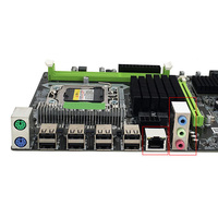 Professional Motherboard Desktop Computer Replacement CPU Accessories Stable LGA 1366 DDR3 Memory Mainboard For Intel X58 Socket