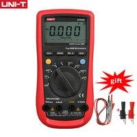 Multímetro Digital UNI-T UT61E, valores eficaces verdaderos, rango automático, medidor de CC de CA/C/D, retención de datos, USB, monitor de voltaje y corriente