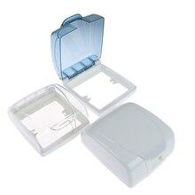 86 Тип, пластиковый настенный выключатель, водонепроницаемая крышка, коробка, светильник, панель, розетка, дверной звонок, откидная крышка, крышка для ванной, кухни, Acc, Прямая поставка