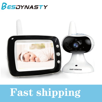 3.5 LCD Screen Digital Video video Baby Monitor 2 Way Talk Security Wireless Baby Camera  Night Vision Electronic Babysitter