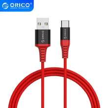 ORICO USB Typ C Kabel 3A Max Aktuelle Daten Sync Ladegerät Typ-C USB Kabel Für Samsung Galaxy Xiaomi huawei