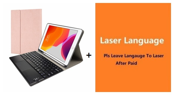 Other letters Clear With pen slot Cover For iPad 10 2 8 7 7th Generation A2200 A2198 A2232 A2197