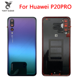 100% Original huawei p20pro Battery Cover For P20 pro Replace the battery cover With camera cover p20 pro