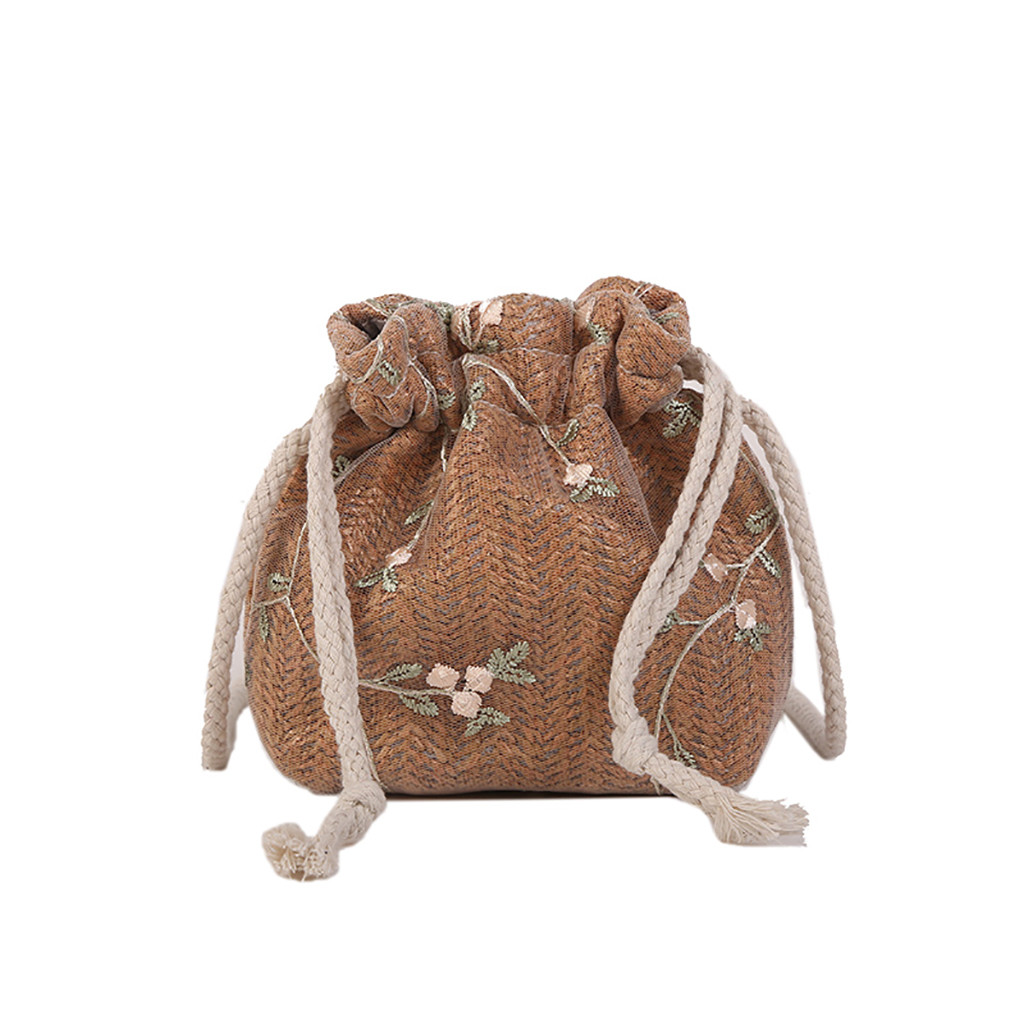 Bolso Mujer Women Shoulder Bags Designer Women Joker Crossbody Fashion One Shoulder Drawstring Messenger Bags