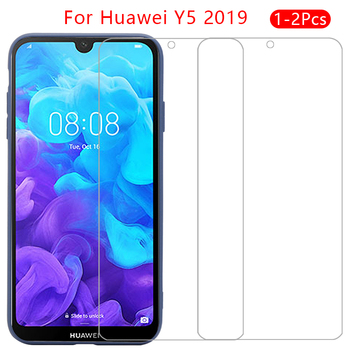 case for huawei y5 2019 cover tempered glass screen protector on y 5 5y y52019 5.71 protective phone coque bag accessories armor image