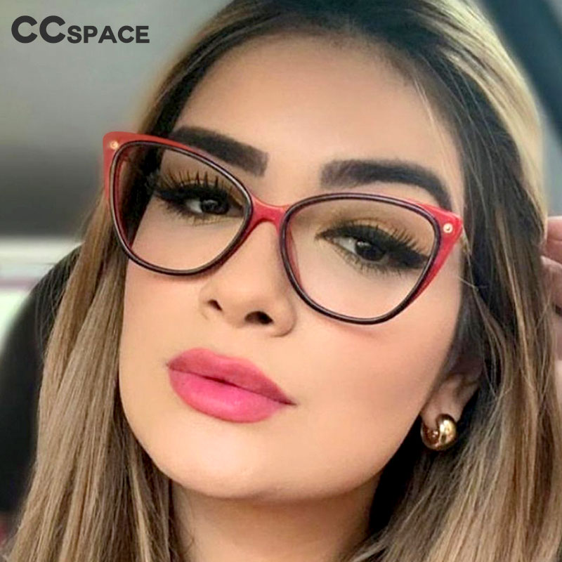 48102 Cat Eye Rice Nail Ultralight Retro Glasses Frames Men Women Optical Fashion Computer Glasses