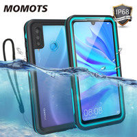 MOMOTS Waterproof Case for Huawei P30 Lite P20 Lite 360 Shockproof Case for Huawei Nova 3e 4e Transparent Full Protection Cover|Fitted Cases|Cellphones & Telecommunications -