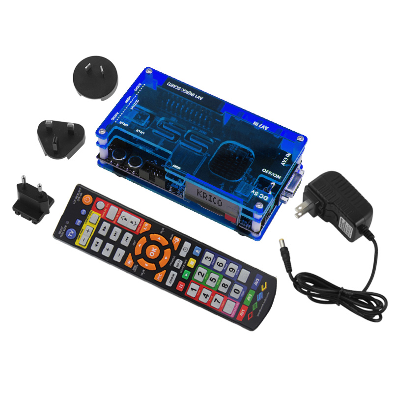 Ossc Hdmi Converter Kit For Retro Game Console Playstation 1 2/ 360/Atari Series/Dreamcast/Sega Series And So On(EU Plug