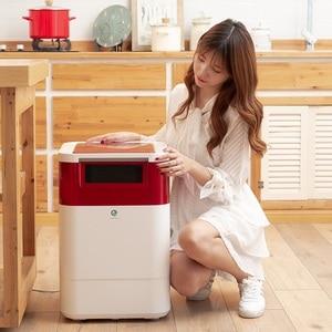Image 2 - Processador de resíduos alimentares cozinha do agregado familiar máquina de compostagem de resíduos de alimentos lixo bioquímico