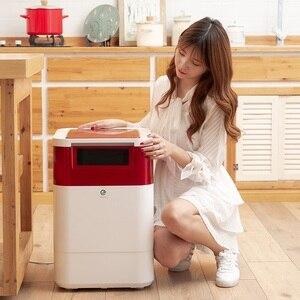 Image 2 - Voedselafval Processor Huishouden Keuken Voedselafval Compostering Machine Vuilnis Biochemische Ontdoener Voedselafval Decomposer