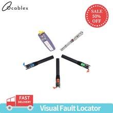 Promotion30mw/20 mw/10 mw/1 mw Visual Fault Locator 5 KM/10 KM/20 KM/30 KM di Fibra Fibra Ottica VFL Tester Rivelatore Per SC/ST/FC Connettore