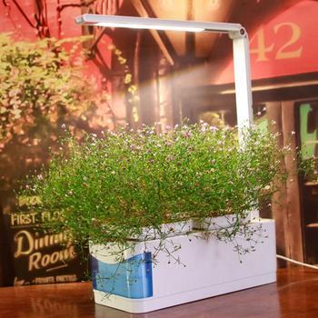 Растения лампа для выращивания Многофункциональный Умный регулируемый Крытый сад комплект для гидропоники растения травы цветок растут с...