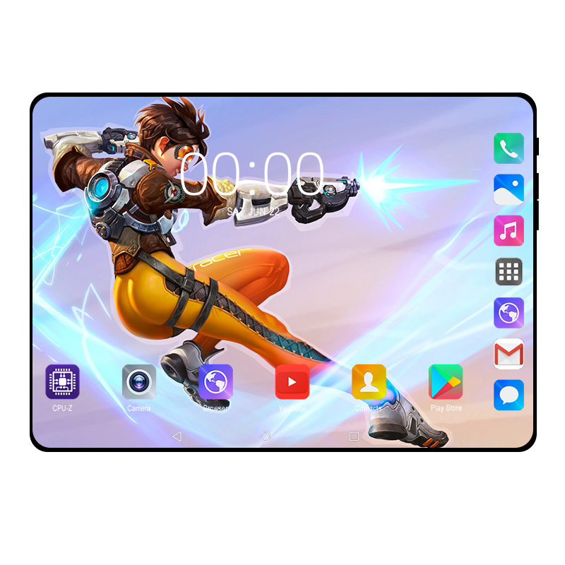 "2019 New 10.1 Inch Tablet PC Octa Core 6+128GB Android 9.0 3G/4G LTE Smart Phone GPS WIFI 128*800IPS Android 9 Tablets 10""+Gift"