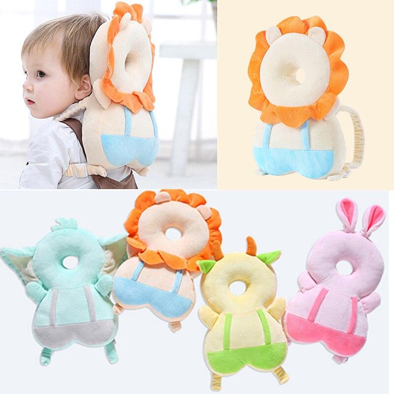 Toddler Headrest Pillow Cartoon Modeling Baby Head Protection Neck Baby Head Nusing Drop Resistance Backpack Type Helmet