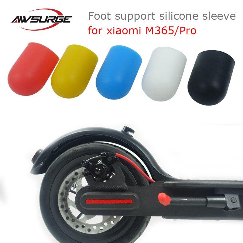 2x Fahrradständer Fuß Stütze Abdeckung for xiaomi M365//pro Roller Stativ Seite