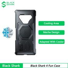 Nuova custodia originale per armatura Black Shark 4 con custodia in alluminio conduttivo termico per custodia protettiva Black Shark 4 Pro