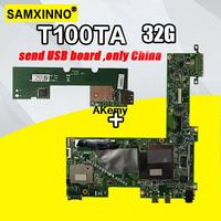 Senden bord + T100TA Motherboard 32GB Für For Asus T100TA T100T laptop Motherboard T100TA Mainboard T100TA Motherboard test ok