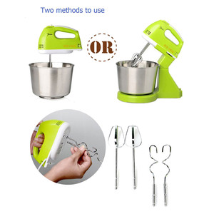 7 Speeds Electric Cake Batter Stand Mixer Food Mixing Machine Handheld Mini Whisk Eggs Beater Blender Whipping Cream Dough