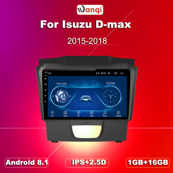 Car Radio For Isuzu D-MAX DMAX 2015-2018 S10 Android 8.1 HD 9 inch Touch screen GPS Navigation Multimedia Player image