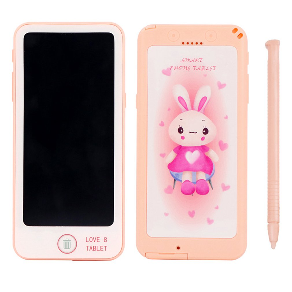 6-Inch LCD Tablet Children'S Educational Early Childhood Writing Board Creative Painted Electronic Drawing Board