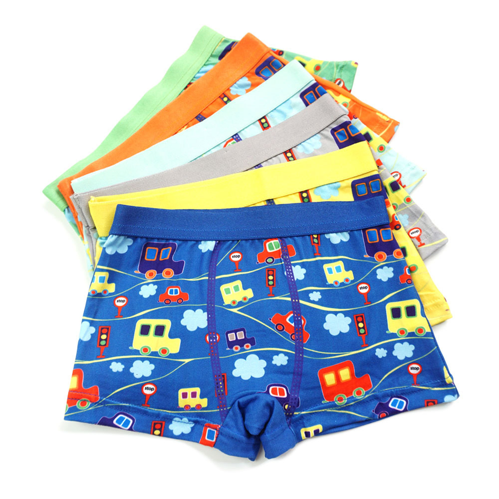 4pcs/lot Cartoon Underpants Car Pants Catamite Panties Boxer Children Cars Baby Boys Kids Underwear Boy Kid Panty Briefs For