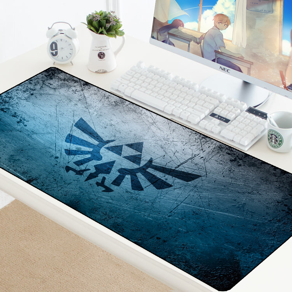 The Legend Of Zelda Speed Mousepad Large Gaming Anime Mouse Pad Anti-slip Locking PC Computer Desk Mat Padmouse Game Pad For LOL