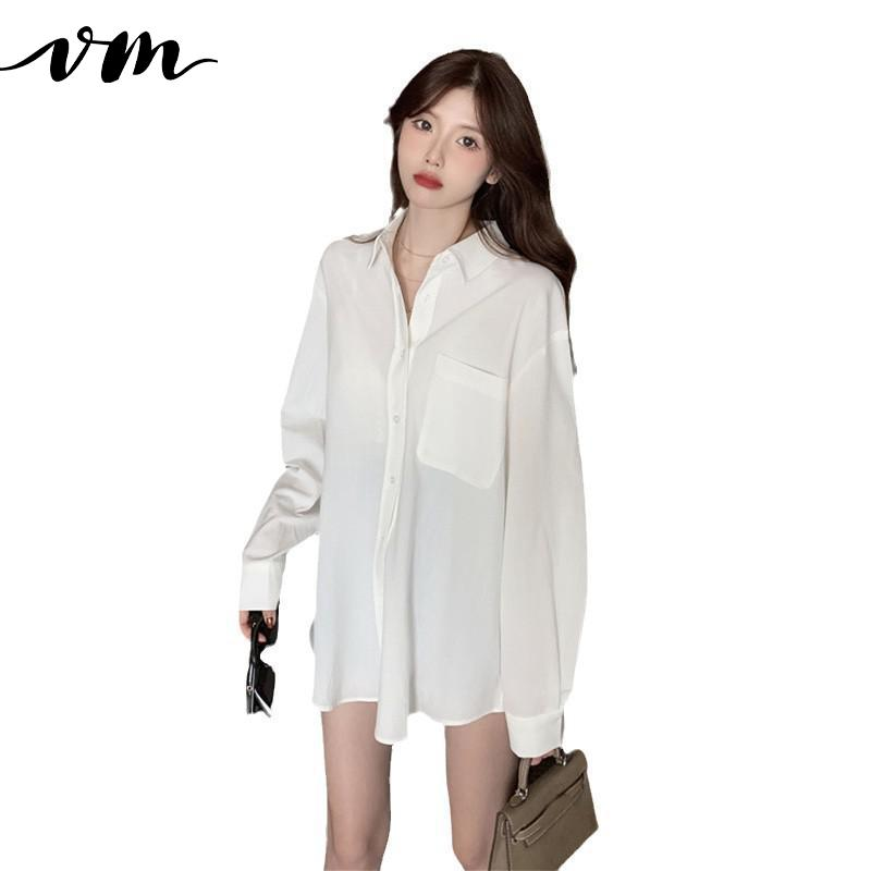 VM-Women-Shirt-CottonWoman-Blouses-Shirts-Loose-Long-Sleeve-White-Blue-Casual-Women-Tops-And-Bloues