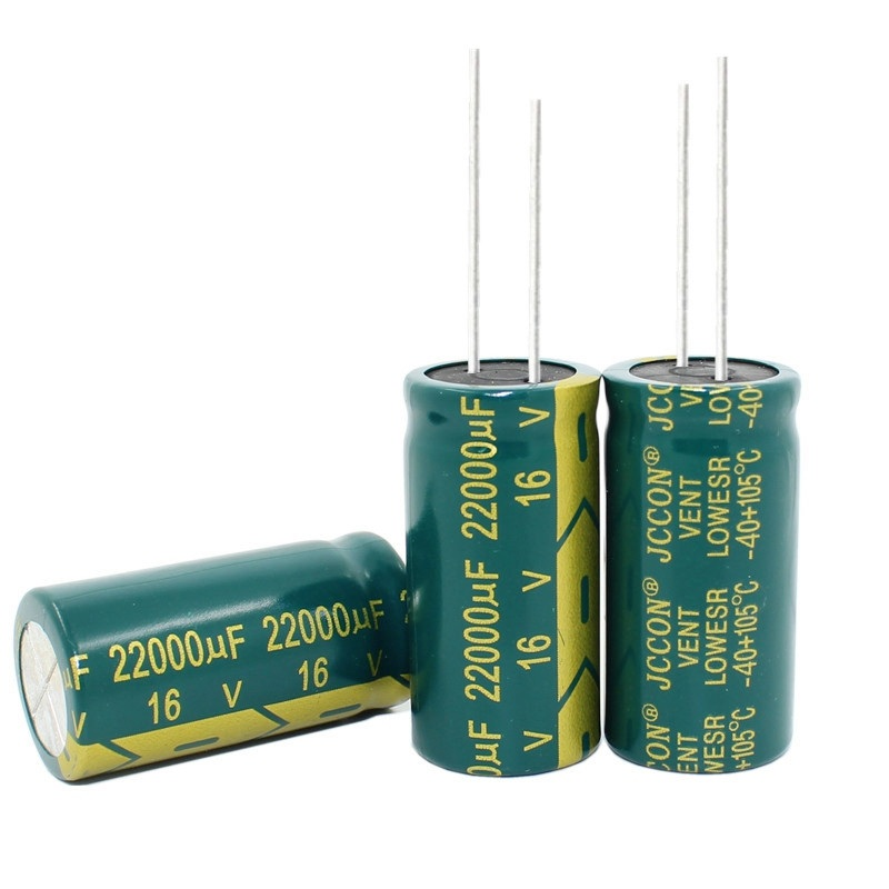 10pcs--50pcs/lot 16V 22000UF 22000UF 16V 18*35mm High Frequency Low Impedance Aluminum Electrolytic Capacitor