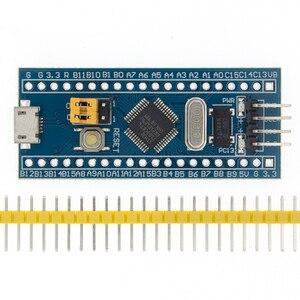 Image 1 - 10 قطعة/الوحدة STM32F103C8T6 ARM STM32 الحد الأدنى تطوير نظام مجلس وحدة