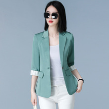 I43719 New Women Blazers Tops Suit Blazer