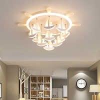 Nouveau Pirate rêve LED plafonniers pour enfants chambre étude enfants chambre lumières moderne plafonnier plafonnier LED avize lustre