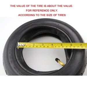 Image 3 - Neumático de tamaño 10x2,50 para bicicleta, llanta inflable de 10x2,5 para patinete eléctrico, con unidad de equilibrio y tubo interno