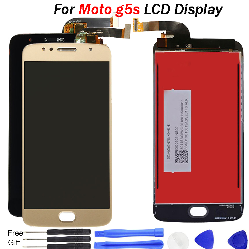 Original <font><b>LCD</b></font> for Moto G5S Display <font><b>XT1792</b></font> <font><b>LCD</b></font> Touch Screen Replacement XT1793 XT1794 <font><b>LCD</b></font> repair for Motorola G5S <font><b>LCD</b></font> Digitizer image