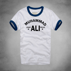 Urban fashion Muhammad Ali T Shirt Mma Casual Clothing For Men Greatest Fitness Short Sleeve Printed Tee Shirt Plus Size Homme(China)