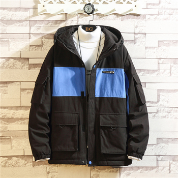 2019 New Style Winter Jacket Men And Coat Peffer Parkas Men Clothes For Men  Winter Cargo Hooded  Thick Plus Size Loose M-5XL