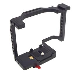 Camera Cage Full Frame with Shoe Mount & Rosette Mount for Sony a7II a7SII a7III a7RIII a9 Camera Cage Mount r60