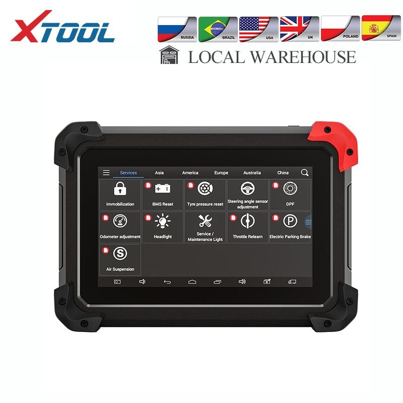 XTOOL New EZ400 PRO Dignostic tool Auto scanner key programmer and odometer adjustment full system car tools DPF ECU free update