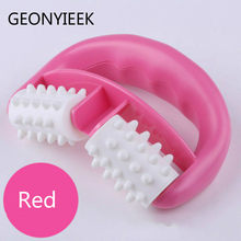 Cellulite massager roller 1pc Blau D Fett Control Roller Bein Bauch Neck Gesäß Schnelle Anti Cellulite Facelift Werkzeuge roller(China)