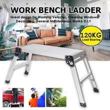 Stool Ladders Construction-Tools Folding-Work Step Home 1 Aluminum Warehouse Platform-Step-Up