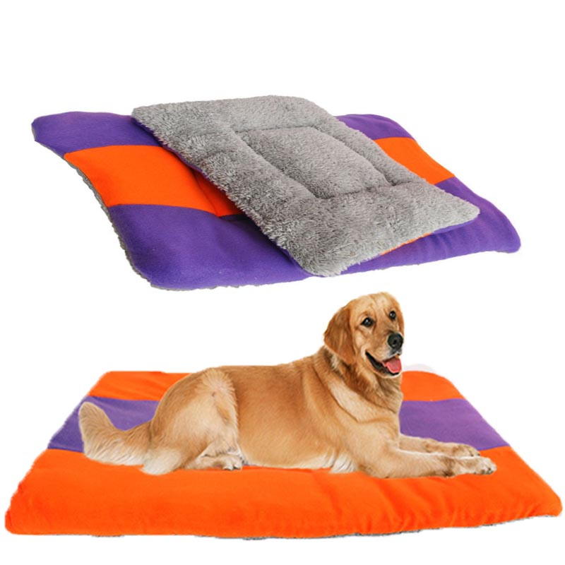 Breathable Pet Mat Comfortable Pet Dog Cat Mattress Not Easy Dirty Pet Bed Small Medium Dog Cat Durable Portable Pet Supplies