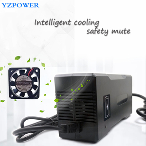 Image 3 - Yzpower Dc 10S 42V 5A 36V Lithium Ion Batterij Lader Voor Li Ion Lipo Batterij Desktop Type Snelle voeding Eu/Us/Au/Uk Ac Dc