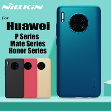 Nillkin for Huawei Mate 30 20 P30 Pro Case Frosted Shield Hard PC Phone Bag Full Cover Honor P20 Lite