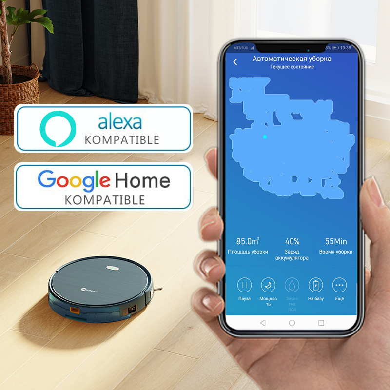 NEATSVOR X500 Robot Vacuum Cleaner 3000PA Poweful Suction 3in1 pet hair home dry wet mopping cleaning robot Auto Charge vacuum 3