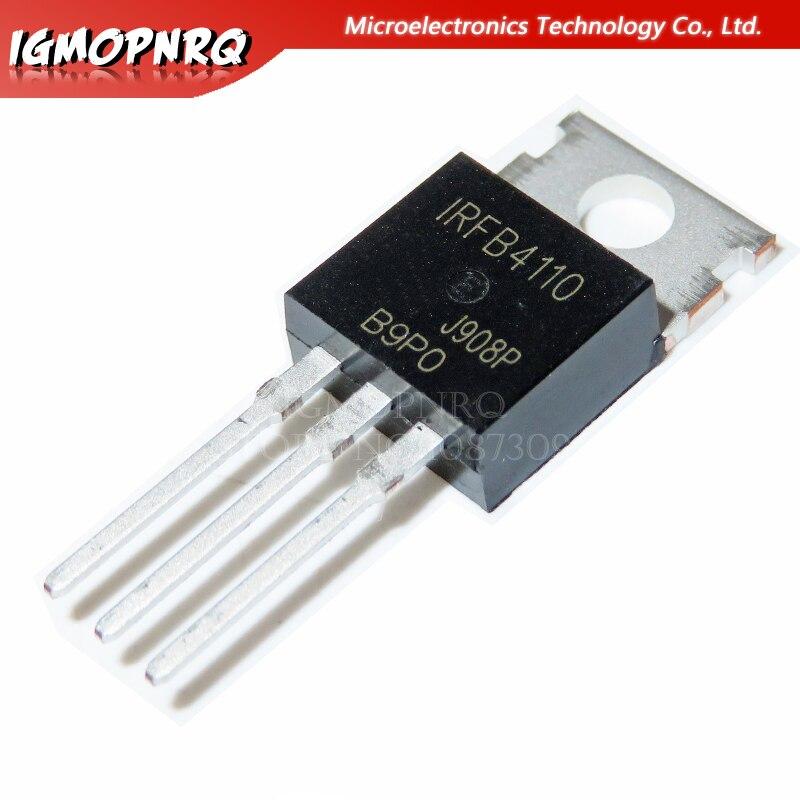 20 шт. IRFB4110 IRFB4110 B4110 IRFB4110PBF 100 в, 3.7mO, 180A, 370 Вт полевой транзистор 100% Новый оригинальный гарантия качества