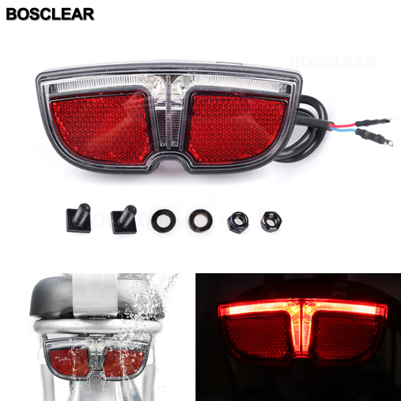 Cycling Bicycle Rear Super Bright Red 5 LED Tail Light 3-Modes Bike Night Lamps